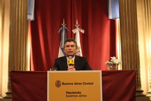 conferencia mauricio macri - elecciones