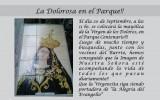 VIRGEN DE LOS DOLORES EN EL PARQUE