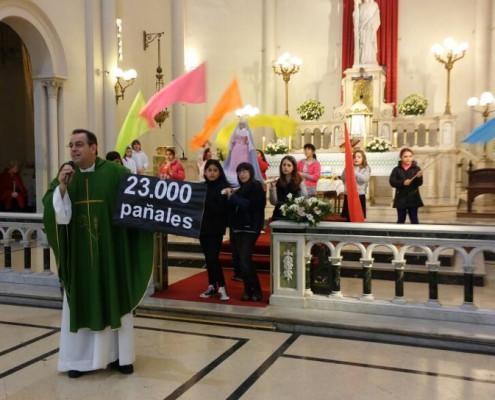 El Padre Jorge Lettera anunció el éxito de la convocatoria