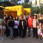 Representantes de instituciones de Caballito  en el festejo de la Junta Comunal