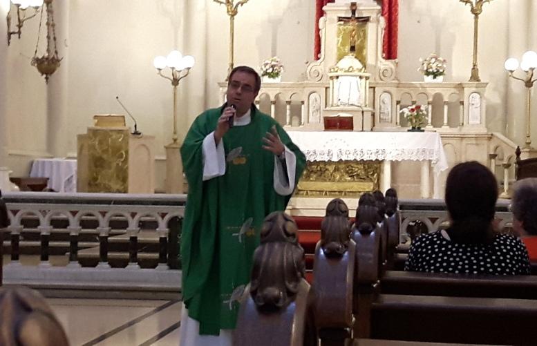 Misa en Acción de Gracias en la Parroquia Santa Julia