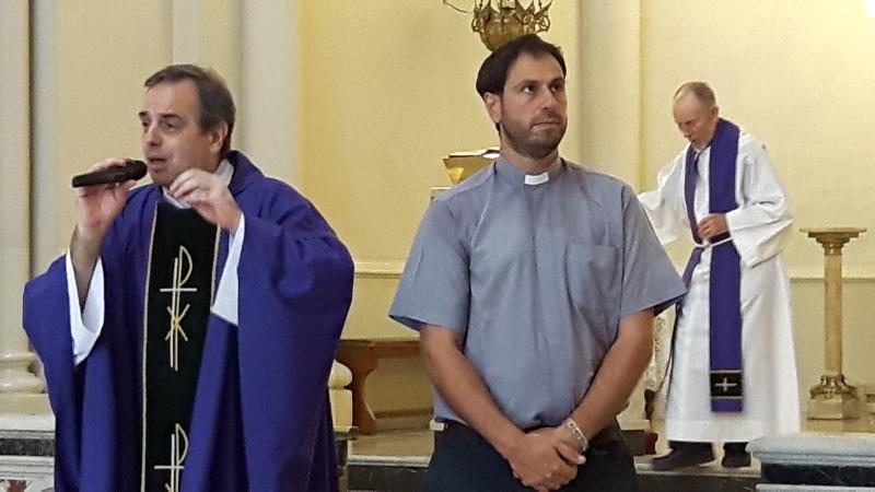 Sentidas palabras de despedida del padre Jorge-