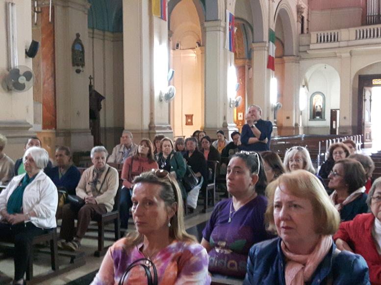 En el interior de Nuestra Señora de los Dolores