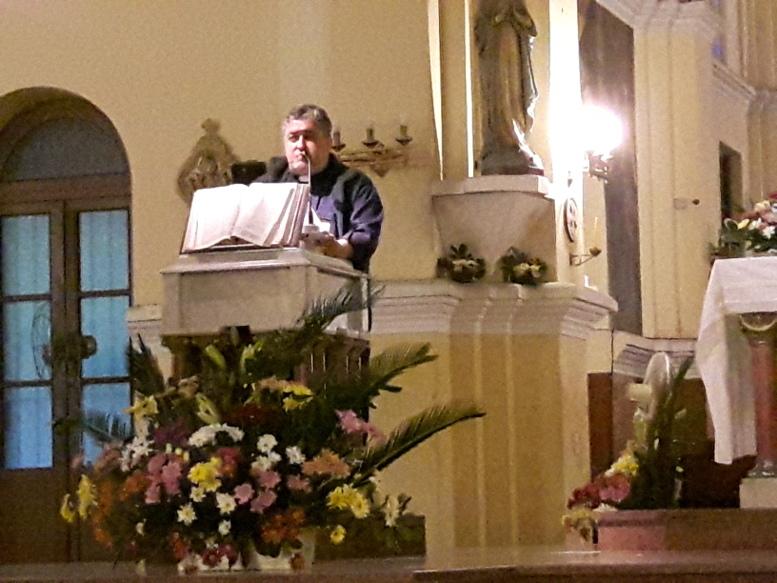 El padre Rodolfo, párroco del Buen Pastor