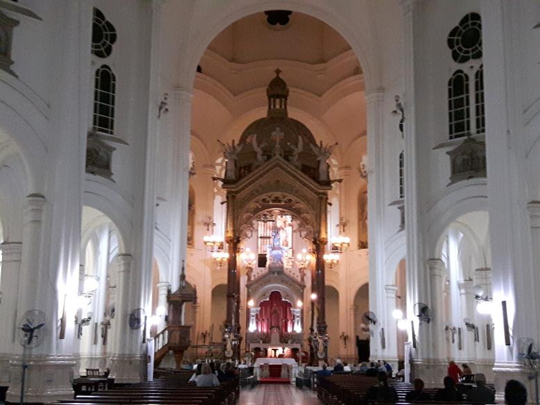 La última parada fue Nuestra Señora de Buenos Aires