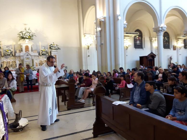 En la parroquia Santa Julia