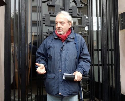 El Arq. Carlos Susini se refirió a las principales características del Estilo Art Decó