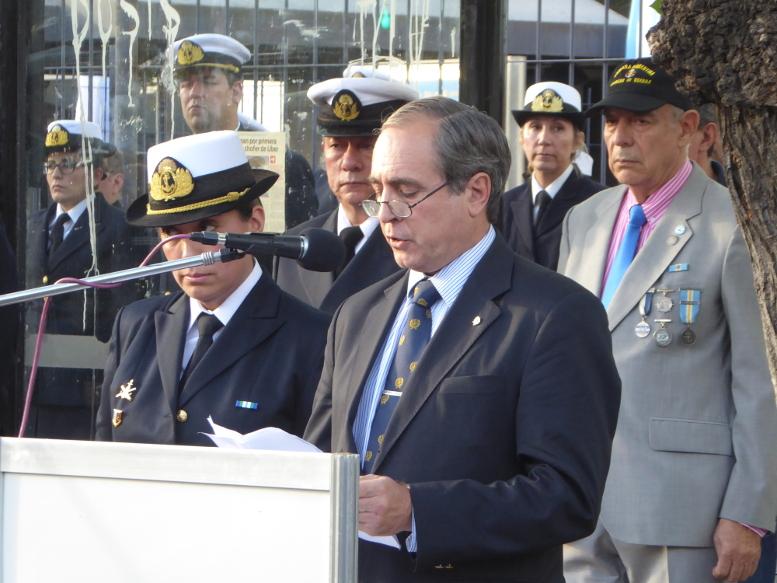 Palabra el Contralmirante Carlos Castro Madero, miembro de la tripulación y sobreviviente del Crucero General Belgrano.