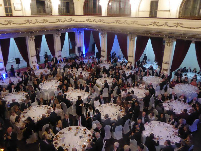 El Salón Blanco del Club Italiano fue el marco del evento.