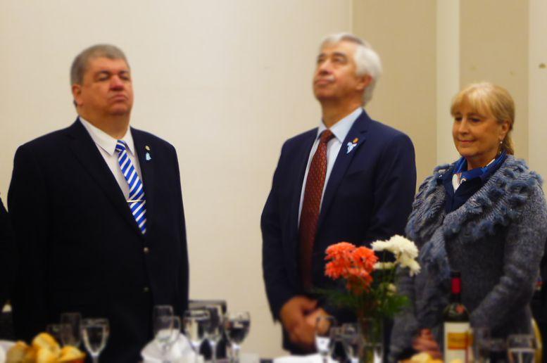 Susana Espósito y Ricardo Pedace entre los invitados especiales.