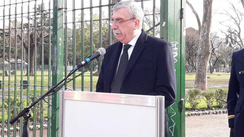 Francisco Guida, presidente del Movimiento Sanmartiniano Nacional