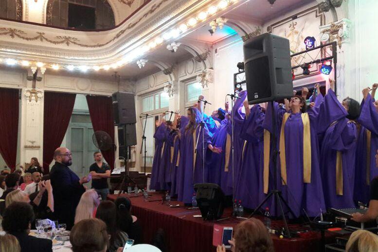 Actuación del Coro Gospel Joy