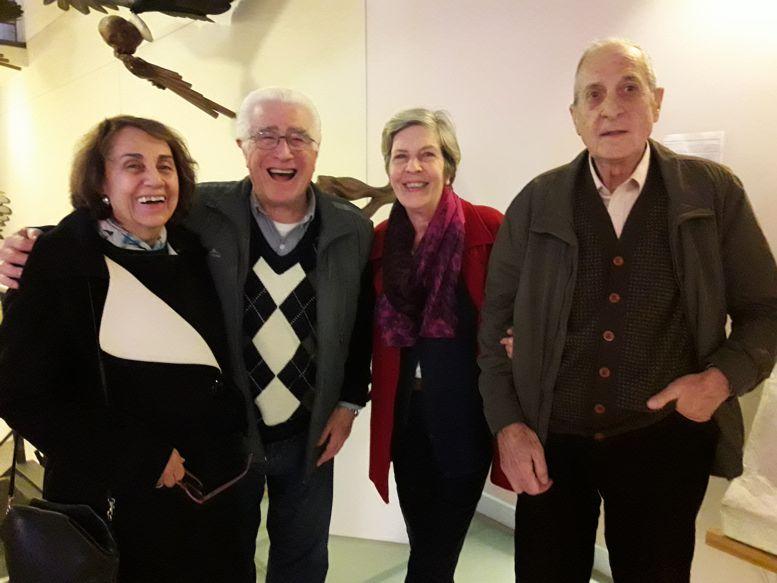 Integrantes de la Asociación Amigos del Museo.