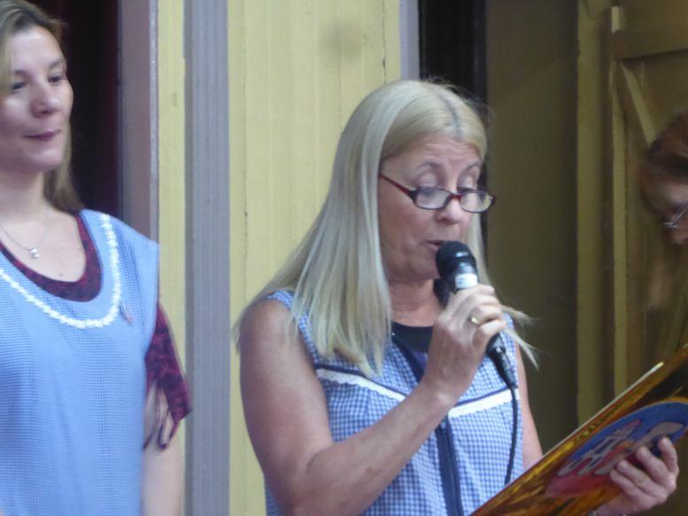 La Directora del Colegio, Rosana Pascual