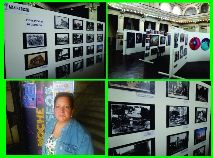 Muestra de Fotos Históricas de Caballito en el Club Italiano, a cargo de la Revista Horizonte.