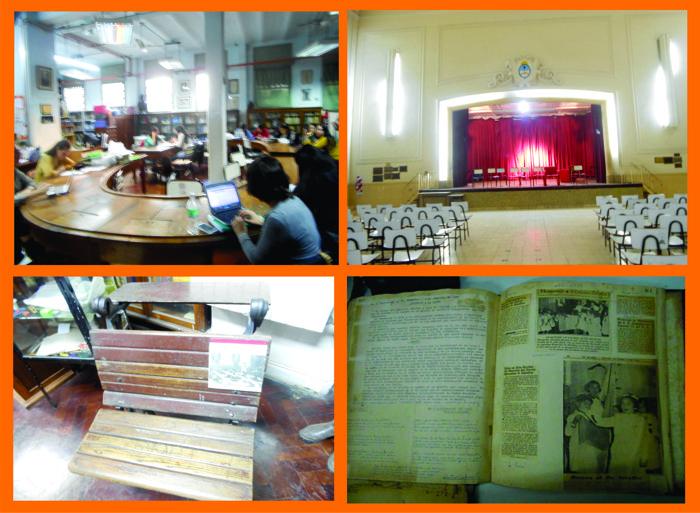 La Escuela Normal N°4 fue otra de las sedes con importante convocatoria.