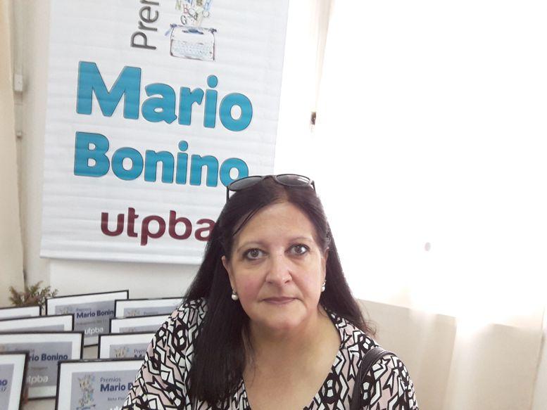Marina Bussio, directora de Horizonte, La Revista de Caballito.