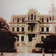 Palacio Videla Dorna, frente a la Quinta Lezica.