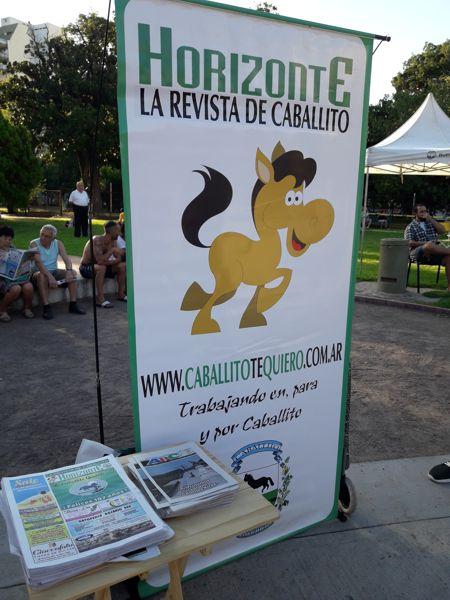 Horizonte, la Revista de Cabalito, dijo presente una vez más.