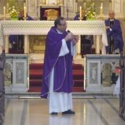 Su última homilía en la parroquia Santa Julia