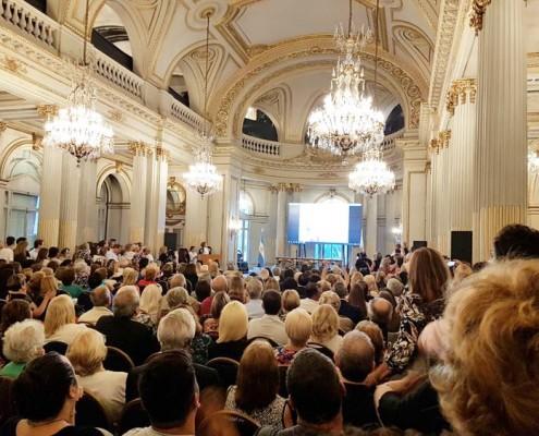 Salón Dorado de la Legislatura porteña