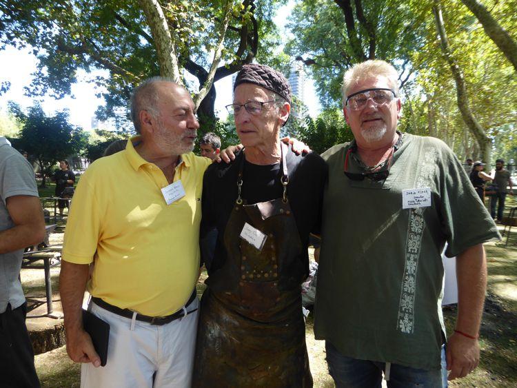 Salvador Napoli, Jerry Coe y Darío Klehr