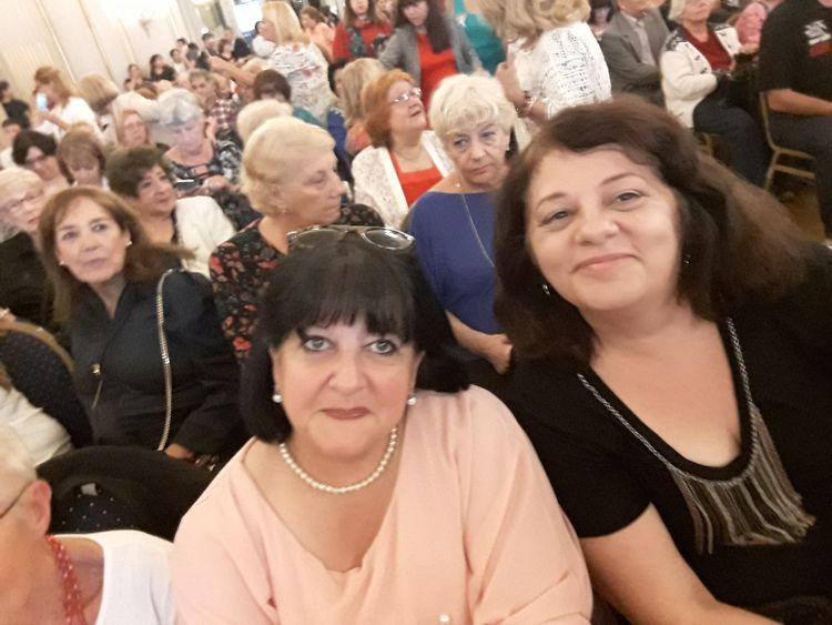 Con Griselda Peri