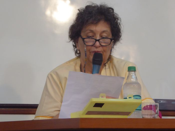 Dra. Liliana Ledesma, presidente de APUHD