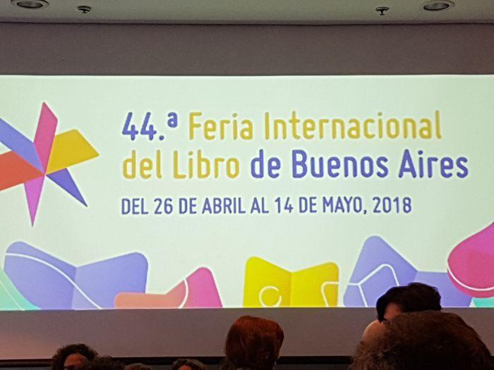 El libro fue presentado en la Sala Alfonsina Storni, en el marco de la Feria Internacional del Libro