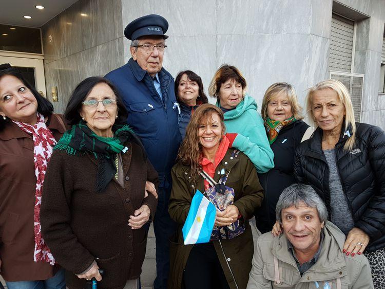 Tranvía Histórico . Parte de los integrantes de la Red de Cultura. con la satisfacción de la tarea realizada.