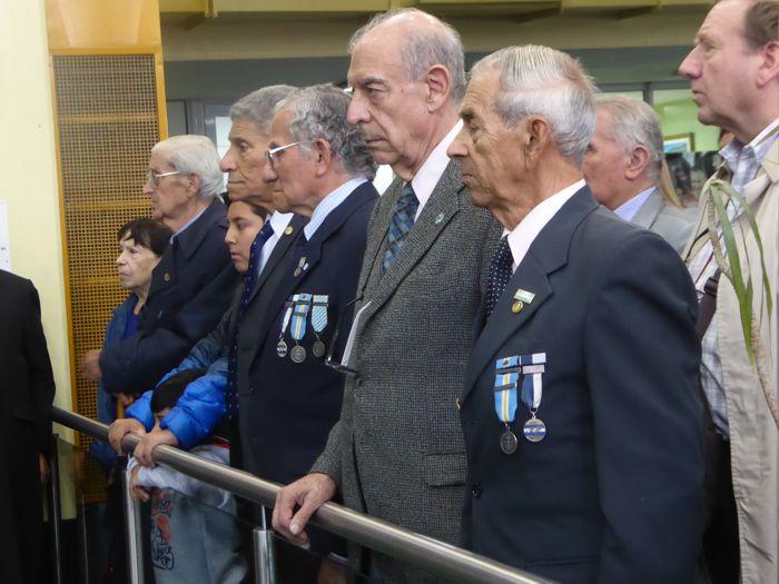 Veteranos de la Guerra de Malvinas.
