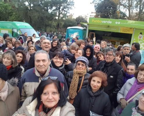 Más de 60 personas concurrieron a la visita guiada.