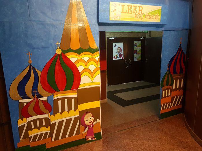 ExpoLibro Marianista en al marco de Mundial de Fútbol de Rusia