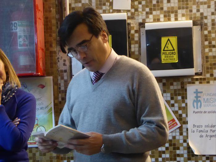 Prof. Marcos Romero, rector del Colegio Marianista