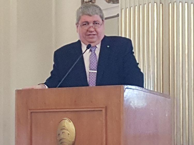 """Ricardo Pedace, presidente de Rotary """"Caballito"""", período 2017-2018"""