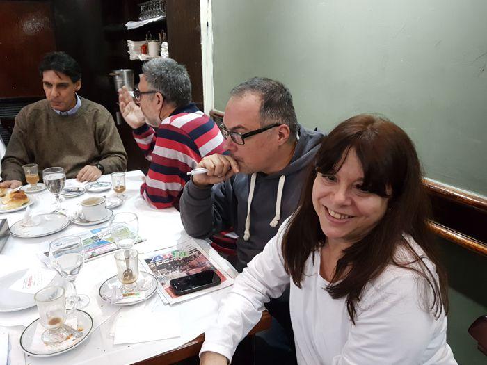 Sandra Agüero, Gabriel Mtallía, Sergio Mosquera y Darío García Pérez.