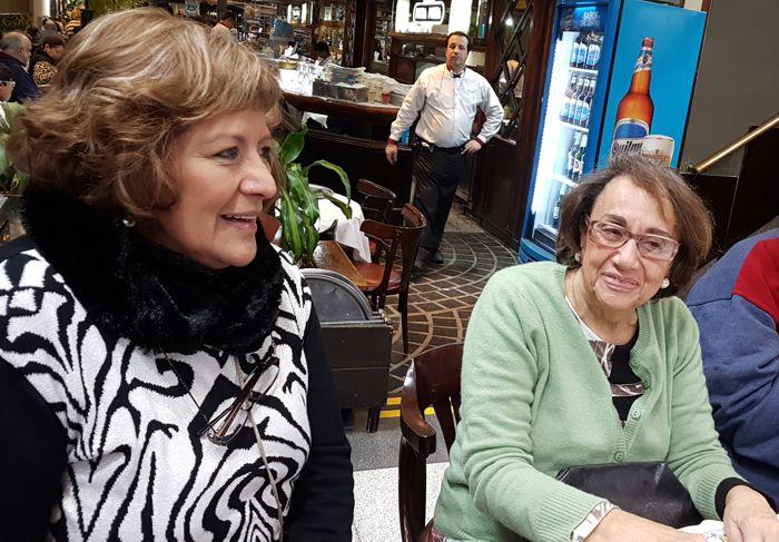 Susana Gesualdi y Rochi Bianco.
