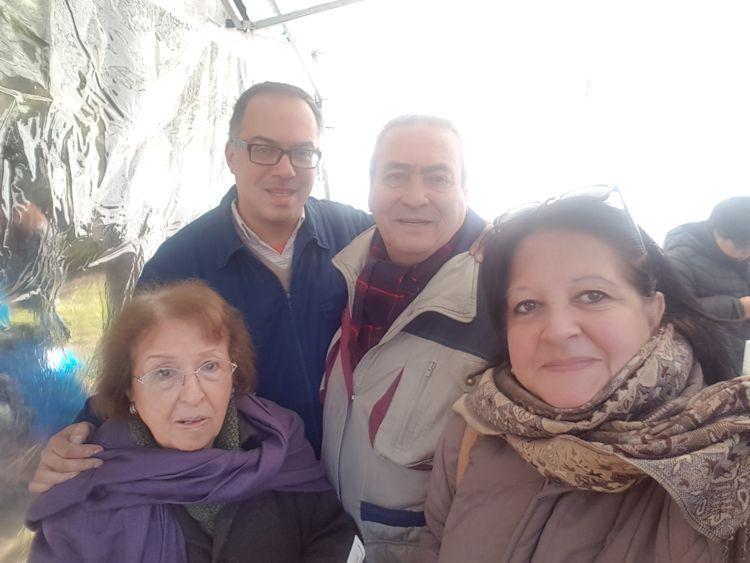 Gabriel Matallia (Asociación Amigos del Tranvía), Arnaldo Goenaga (Asociación Alvear), Elena García Pérez (Junta de Estudios Históricos), Marina Bussio (Revista Horizonte).