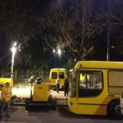 "Operativo ""antifrio"" en Parque Rivadavia."