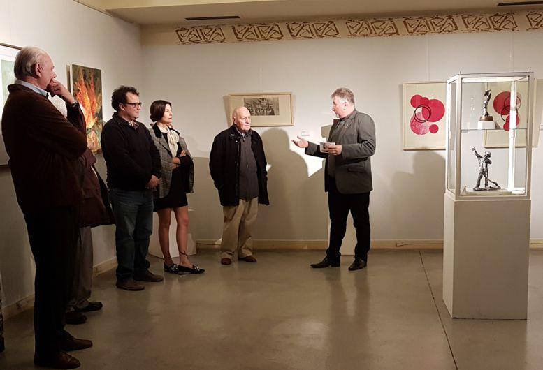 """Presentando a los artistas de a Muestra """"Artes Combinadas"""""""