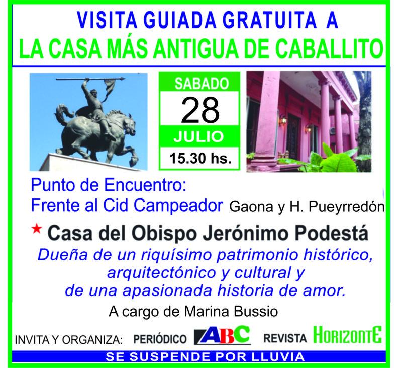 Visita Guiada Casa Podesta 28 de julio web
