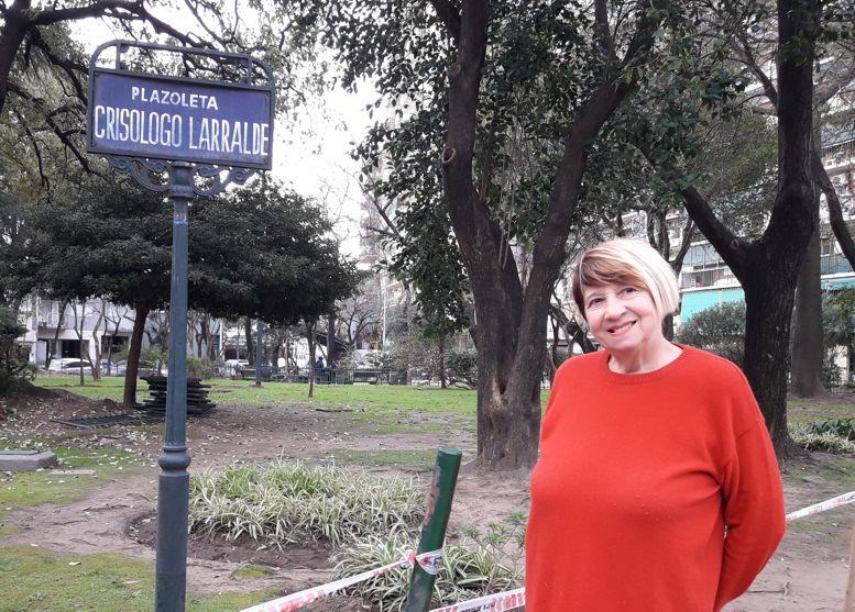 María Angélica Rodiño, presidenta de la Unión Vecinal