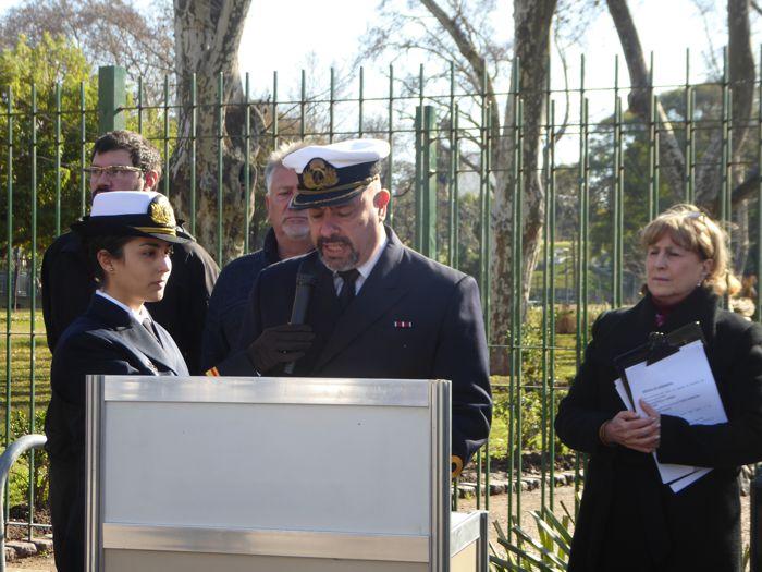Capitán de Fragata Sergio Gustavo Arce