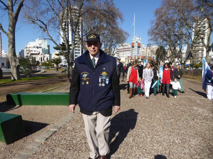 El vicepresidente de la Asociación Amigos del Crucero General Belgrano, Juan Tobar.