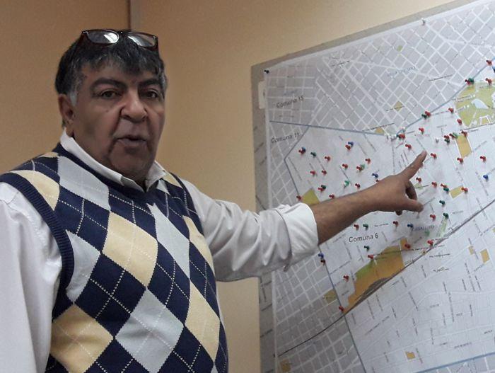 Comisario Jorge Buabud (Comisaría 6 A)