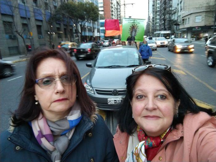 Marisa Morán y Marina Bussio