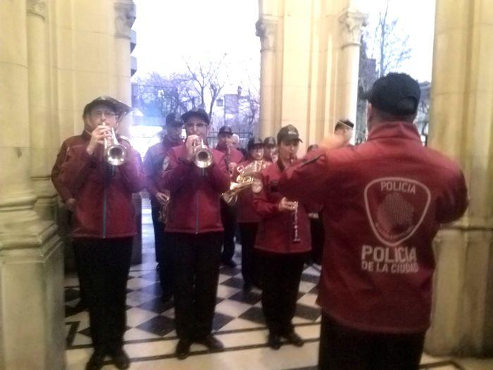 La Banda de Música de la Policía de la Ciudad