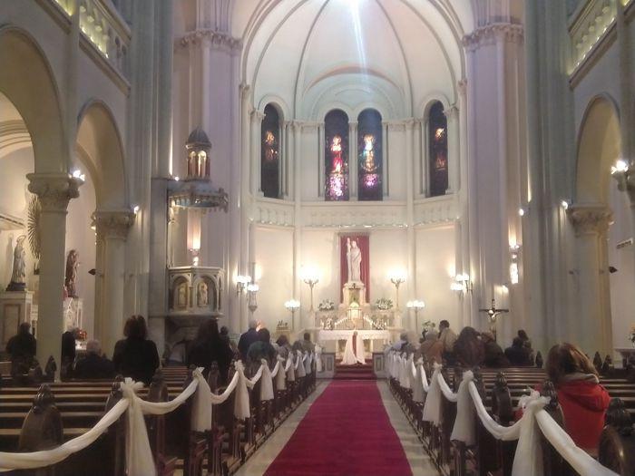 Durante la homilía Monseñor Aloisio se refirió a la celebración del Día de la Virgen  Patrona de Caballito.