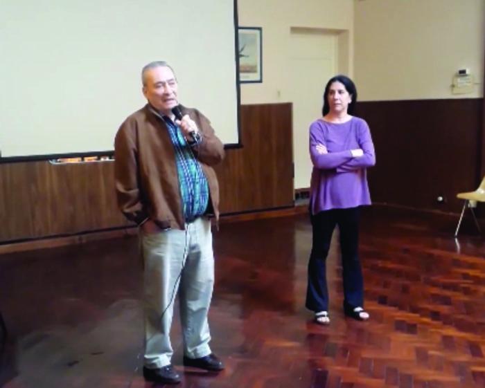 Arnaldo Goenaga, presidente de la Asociación Alvear.