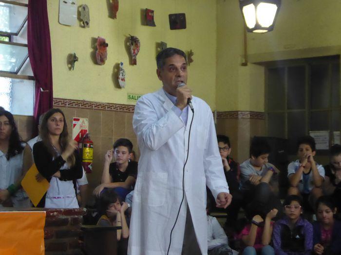 Prof. Jorge Milano, director del Colegio